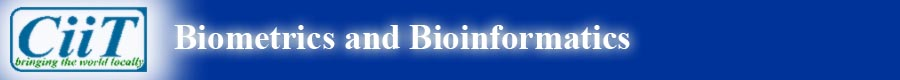 CiiT International Journal of Biometrics and Bioinformatics