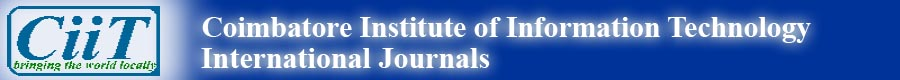 CiiT International Journals